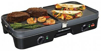 Hamilton Beach 38546 3-In-One Grill Griddle Electric Skillet