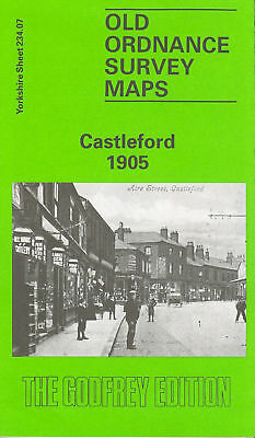 Old Ordnance Survey Map Castleford 1905