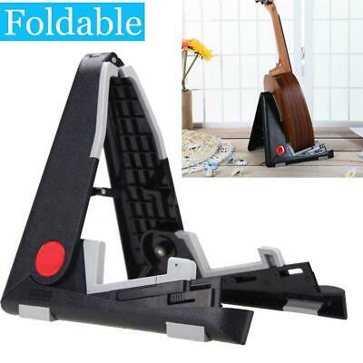 UK Frame Universal Foldable Guitar Stand Fits ALL Guitars Acoustic Electric Bass