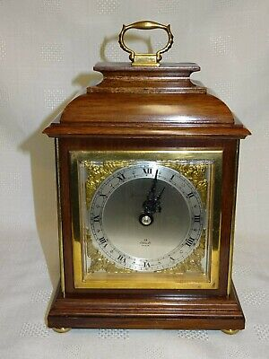 Nice Quality Elliott Mantel Clock - Swansea Goldsmiths - Working