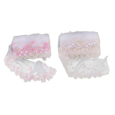 Embroidery Water-soluble Lace Cloth For Doll Clothing Manual Making Material