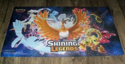2017 POKEMON TRADING CARD GAME GAMING MAT SHINING LEGENDS JUST AS PICTURED NEW