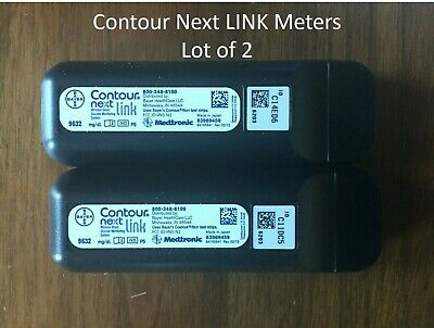 Lot of 2 - Bayer Contour Next USB Monitor Meter - Brand New w/ flaw **READ**