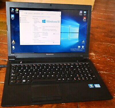 LENOVO B570E INTEL Core i3 250Gb HDMI Window 10 glossy screen full size  keyboard