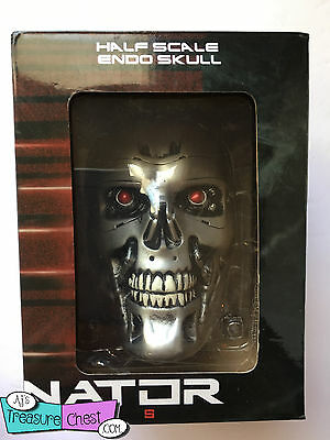 Chronicle Collectibles Terminator Genisys Endo Skull Half Scale in box -