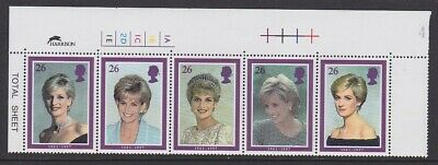 GB EII 1998 Diana Princess of Wales 2021a with cylinder no. Harrison imprint