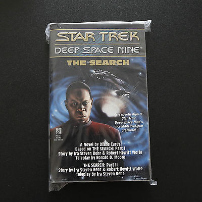 Vintage Star Trek Dsn The Search Paperback Book Novel (1994)
