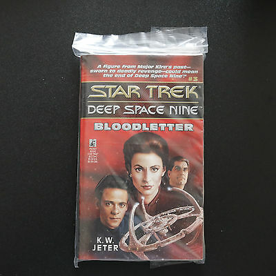 Vintage Star Trek Dsn Bloodletter Paperback Book Novel (1993)