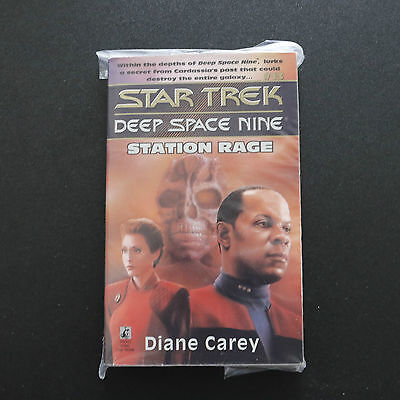 Vintage Star Trek Dsn Station Rage Paperback Book Novel (1995)