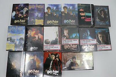 Harry Potter Trading Cards Sets Incl Goblet Of Fire Prisioner Of Az