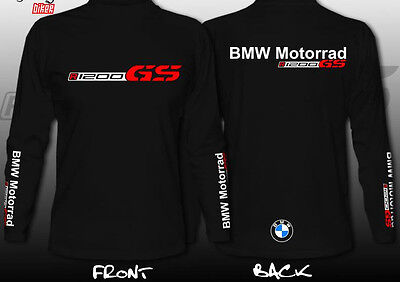 T-Shirt Bmw R1200Gs Adventure Paris  Dakar Power Manica Lunga Motorrad World