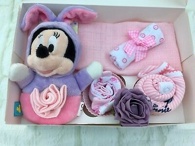 Baby Minnie Mouse New Baby Gift Set