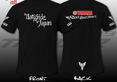 T-Shirt Yamaha Mt-O9 Personalizzabile Anche Per Mt-07 Mt-03 Mt-01 The Dark Side