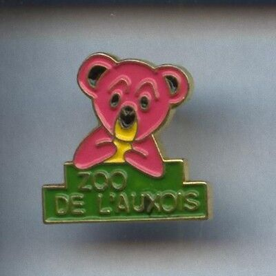Rare Pins Pin's ..  Animal Ours Bear / Zoo De L'auxois 21 ~2B