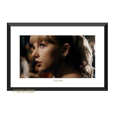 Taylor Swift Collectible: Delicate Close Up Music Video Lithograph Edition #1872