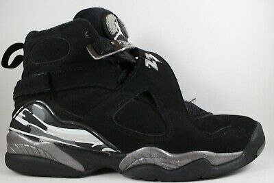 low priced 51339 06a61 Nike Air Jordan 8 VIII Retro BG GS Black Chrome size 5Y