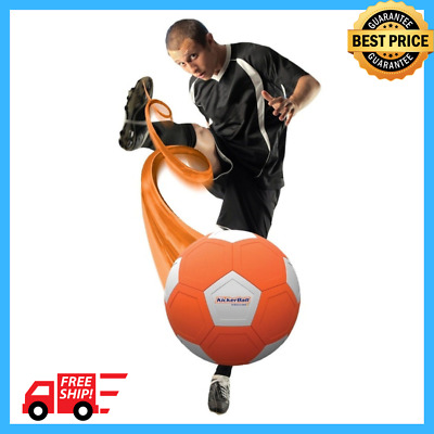 KickerBall Swerve Ball Backyard Football Aerodynamic Outdoor Play Trick Shots