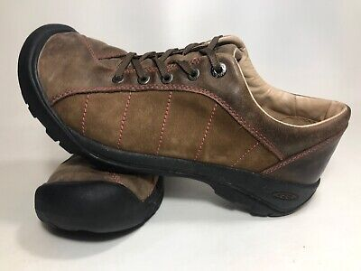 9782d1b1bfc9 Keen Womens Walking Hiking Shoes Size US 10.5M Brown Leather Lace Up (a31