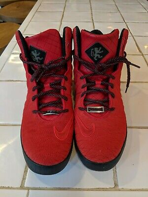 9c67fd2a26c LEBRON 11 NSW Lifestyle Red Black University Red 616766 600 Size 9 ...