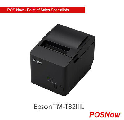 Epson TM-T82IIIL Serial/USB Receipt Printer (includes USB Cable)
