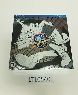 Persona 4: Dancing All Night Disco Fever NEW Collectors Sony PlayStation Vita