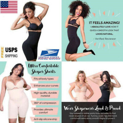 Shapermint Empetua All-Day Every Day High-Waisted Shorts Pants Women Body Shaper