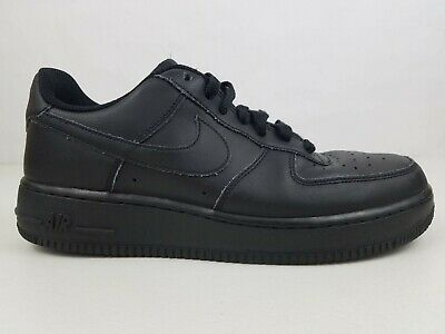 new product c96a5 02487 Nike Air Force 1 AF1 Grade School Black Sneakers Shoes Youth 7Y (314192-009