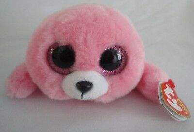 ab3a778bd96 PIERRE PINK SEAL Ty Beanie Boos Clips Keychain -  3.99