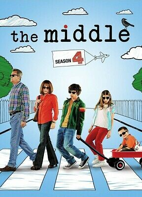 The Middle TV Series Season 1, 2, 3 or 4 on DVD