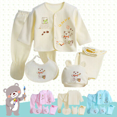 Presents Gifts For Newborn Baby Boys Girls Toddler Unisex Clothing Sets Outfits