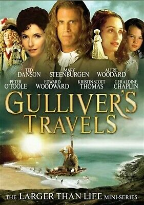 Gulliver's Travels DVD 1996 Ted Danson, Peter O'Toole, Mary Steenburgen New