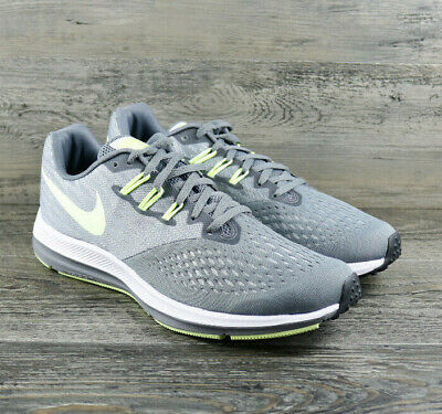 576c3be119d Womens Nike Zoom Winflo 4 Cool Grey Barely Volt Running Shoes 898485-005  Size 11