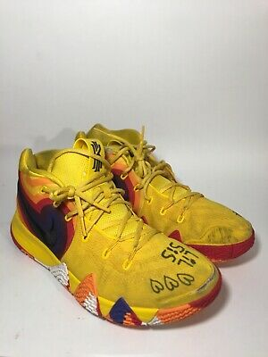4e78d196307 Nike Kyrie 4 IV Uncle Drew 70s Decades Pack Amarillo 943806-700 Size Men  11.5