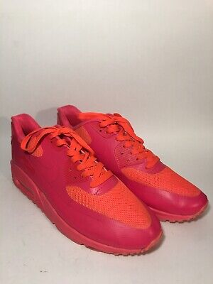 Details about Nike Air Max 90 Hyperfuse Solar Red HYP PRM 100% Authentic Size 8