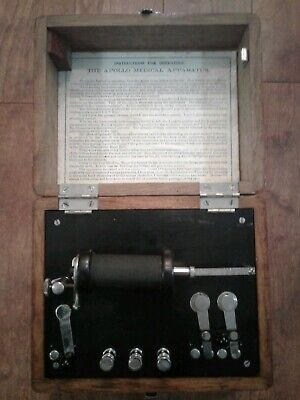 1880s The Apollo Medical Apparatus Quack Medicine Device Shock Therapy