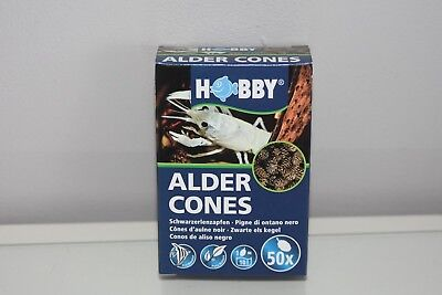 healthy Aquarium Water Shrimpt Black Alder Cones 75 30 150g Consumers First