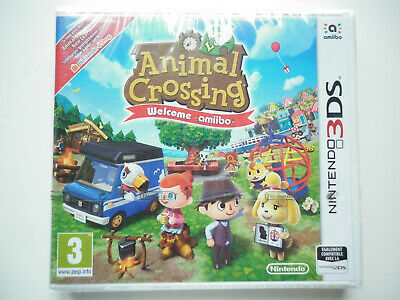 Animal Crossing New Leaf Welcome Amiibo Jeu Vidéo Nintendo 3DS
