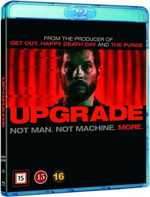UPGRADE (2017) Blu-ray *REGION FREE* (Leigh Whannell) *New & sealed*