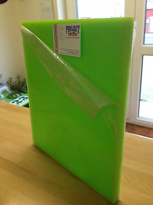15MM GREEN 703 PLEXIGLAS ACRYLIC PLASTIC SHEET A4 210mm x 297mm