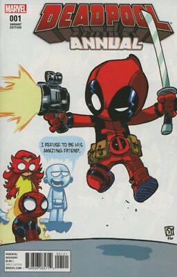 Deadpool Annual #1 (Vol 4) Variant Skottie Young Baby Cover