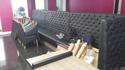 0006 Beautiful Chesterfield sofas .Perfect fits in restaurants,hotels or bars