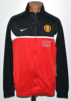 db0869919 Manchester United 2010 2011 Training Football Jacket Jersey Nike Size Xl  Adult