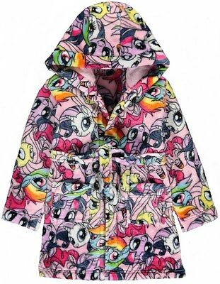My Little Pony:2017 Official Dressing Gown/Robe,7,8,9Yr,New With Tags