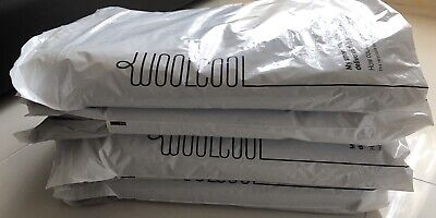 4 Woolcool 100% felted Pure Sheep Wool Natural Insulation Eco Reusable Packaging