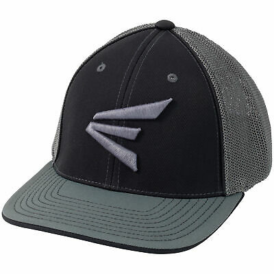 9260efdf801de7 Easton Gameday Flexfit Baseball/Softball Trucker Hat - Black/Graphite - S/M