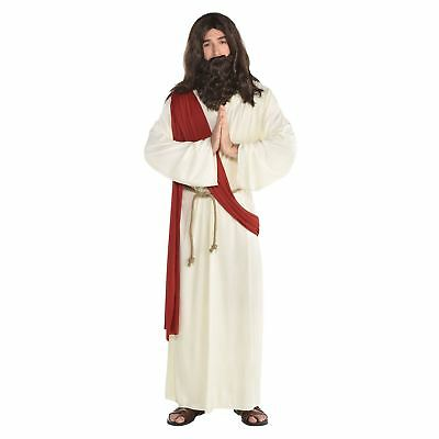 Jesus It Up Ultimate Costume Mens Fancy Carnival Outfit Robe Sash Rope Belt
