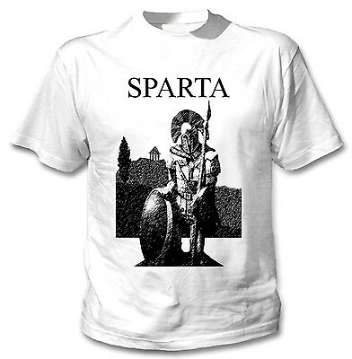 Spartan Warrior Sparta - New Cotton White Tshirt