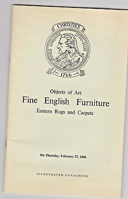 4 X Auction Catalogues from Christie's & Sothebys 1960's