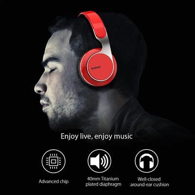 Headset Subwoofer Stereo Wireless Bluetooth Headphones with Mic Computer Phone