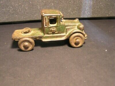 Antique Late 1920's A.C.Williams Cast Iron Tractor for Car Hauler #15,#10, (A)